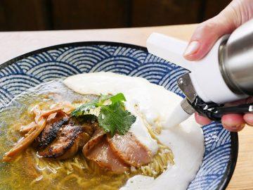 20食限定! ふわとろ過ぎる「エスプーマ塩ラーメン」を食べに鎌倉に行ってきた