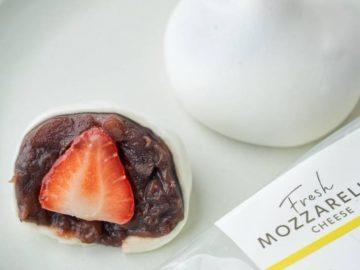 あんこ&フルーツをモッツァレラチーズで包んだ「だいふくモッツァ」が新感覚!