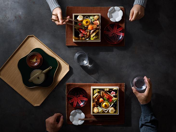 食卓と食卓を結ぶオンワード・マルシェの「リモートおせち」の魅力とは?