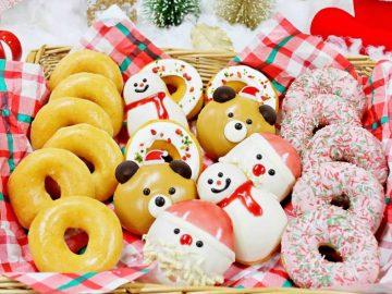 クリスピークリームドーナツのクリスマス限定ドーナツ「HAPPY HOLIDAY」が可愛すぎる!