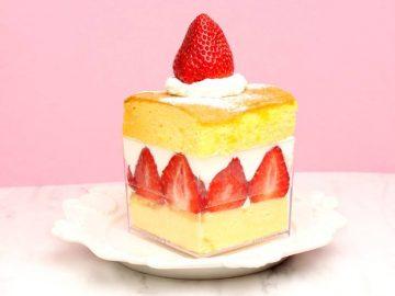 台湾カステラの「ショートケーキ」が至福! ラゾーナ川崎の『千成屋珈琲』でコラボメニューを販売中