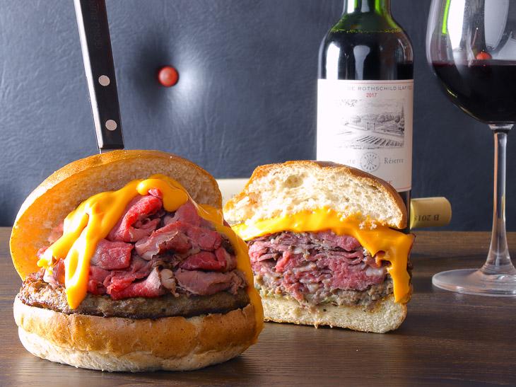 肉々しさ満点! 『いしがまや GOKU BURGER』の「ローストビーフバーガー」がウマすぎる