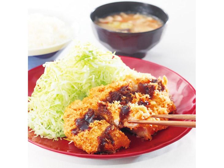 ロースカツ定食500円(通常価格:690円)