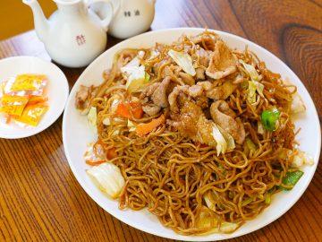クセになる旨さ!『中国料理 梅林』(五反田)の「肉ソース焼きそば」が絶品だった