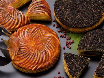 サダハル・アオキに新年の幸運を占うフランス菓子「ガレット デ ロワ」が登場