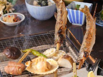 箱根の日帰り温泉『箱根湯寮』で味わう「囲炉裏の炭火焼」が絶品だった