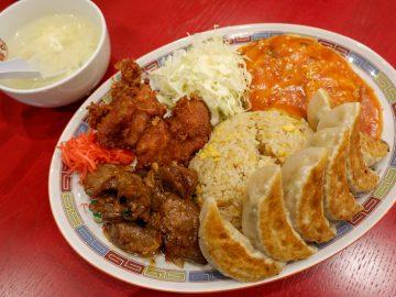 ザ・男メシ! 盛り付けがスゴい「金杯5牛カルビ炒飯」を『大阪王将』で食べてきた