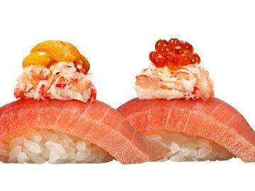 年末年始に味わいたい!『かっぱ寿司』の「三段つかみ寿司」が帰ってきた
