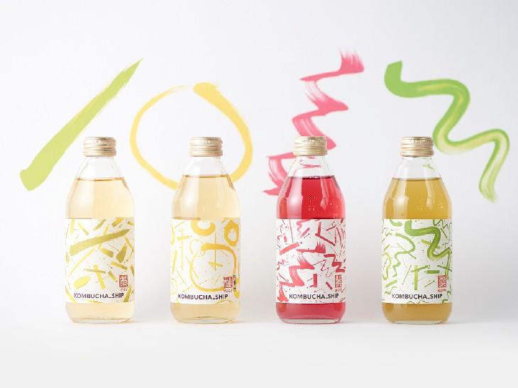 腸内環境の改善やデトックスに! 発酵スパークリングティー「KOMBUCHA_SHIP」がボトルで新登場