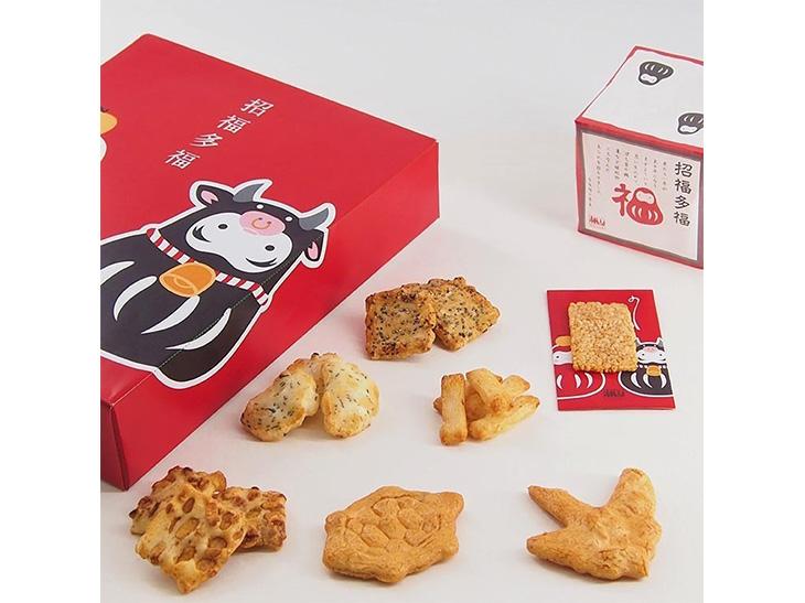 煎餅、おかきなど計7種類入り1620円