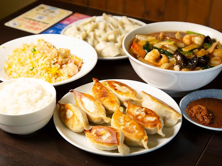 山東出身のママさんが切り盛りする『山東』の料理