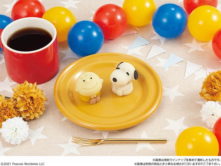可愛いすぎ! 食べられるマスコット和菓子「食べマス」新シリーズにスヌーピーが登場!