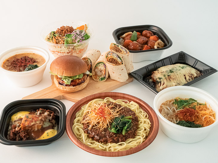 サステナブルな食生活を提案するファミリーマートは、次世代のお肉「大豆ミート」を使用したラインナップを拡大中