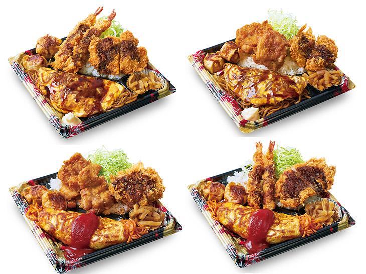 『かつや』で大人気だったコスパ最高の「全力飯弁当」が待望の復活!