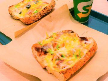 1人でピザを食べたい時に最高! サブウェイで話題の「ピザサブ」を食べてみた
