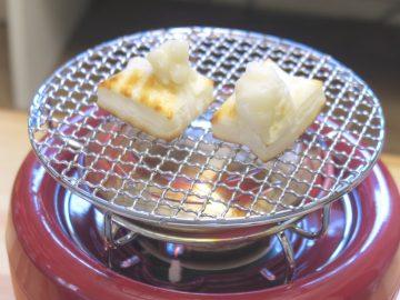 火鉢×七輪!? おうちキャンプが捗るカセットコンロ「ヒバリン」なら餅も魚も炙り放題