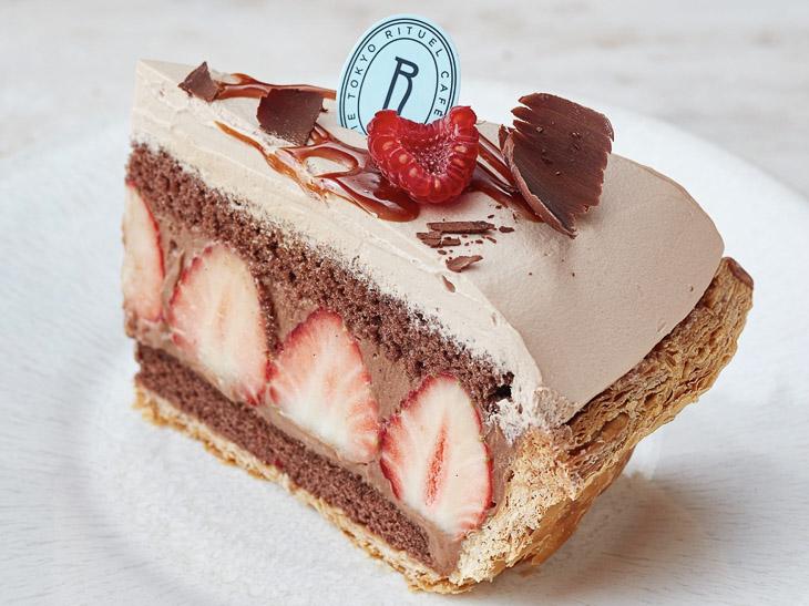Fraise RITUEL「苺のチョコレートパイ」1ピース850円。発売日:2月9日