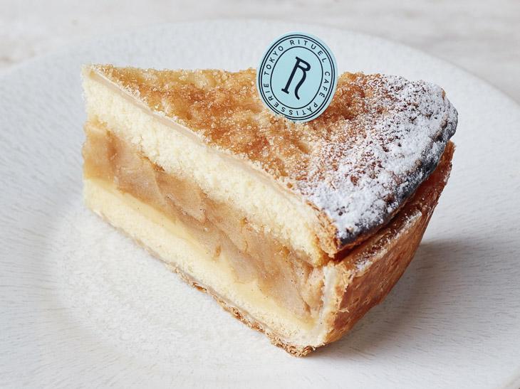 「アップルパイのケーキ カンパーニュ風」1ピース720円。発売日:2月16日