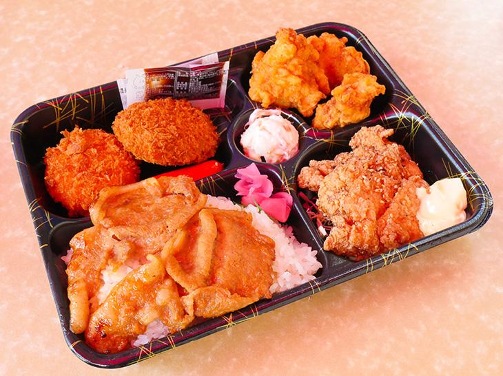 肉・肉・肉! 肉を思う存分楽しめる「将軍御膳」1000円