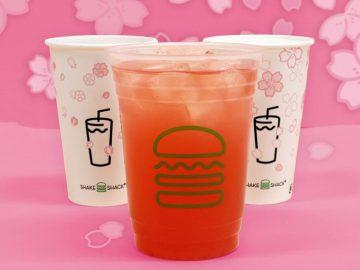 春到来 !『シェイクシャック』の期間限定「桜レモネード」を楽しもう!