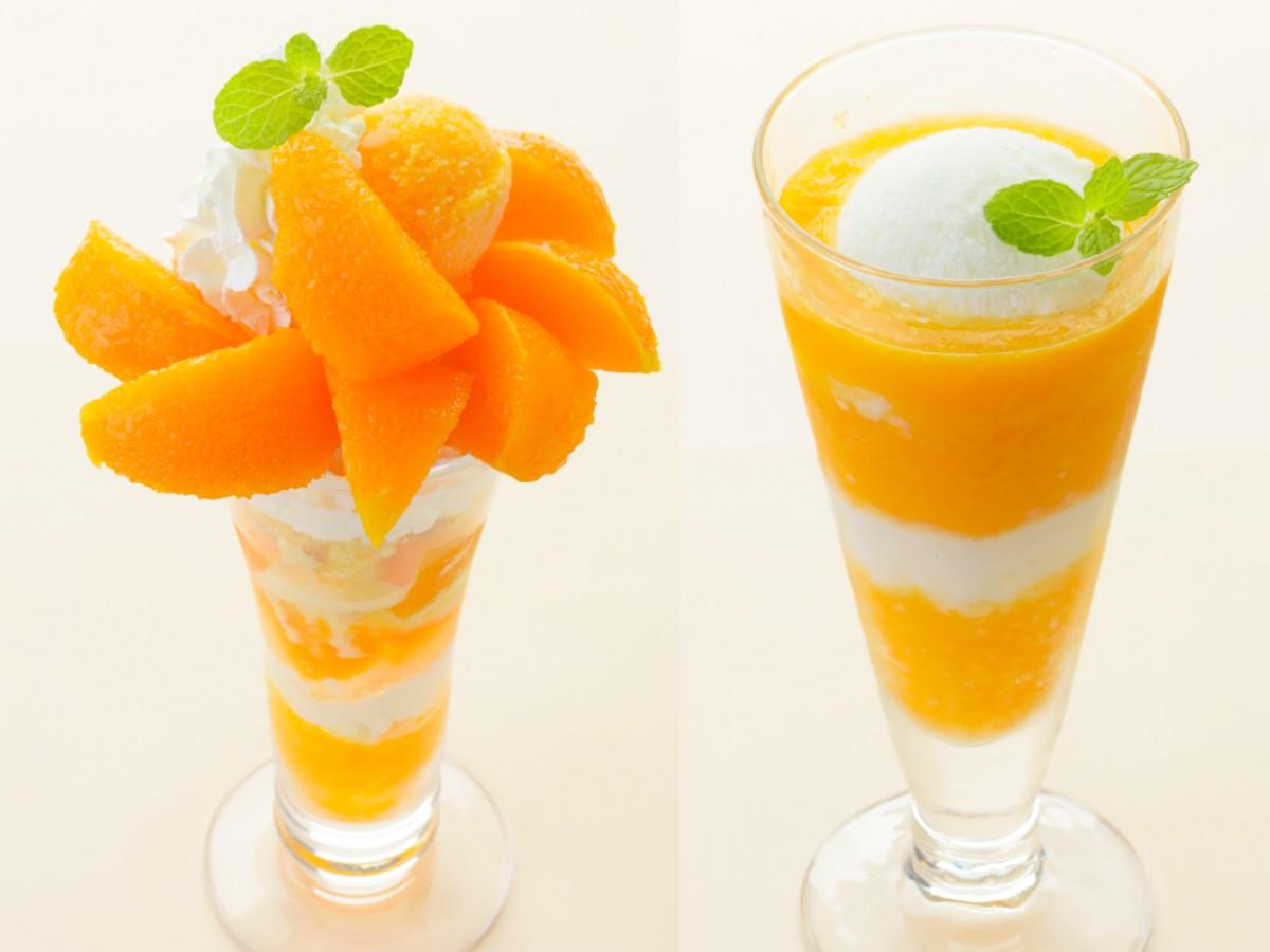 『銀座コージーコーナー』に高級柑橘「せとか」を使ったパフェ&スムージーが期間限定で登場!