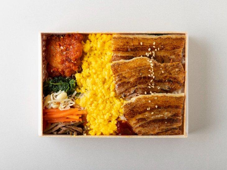 サムギョプサルとヤンニョンチキン弁当    1,080円