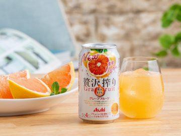 まるで熟した果実のようなジューシーさ! 「アサヒ贅沢搾り」がおうち飲みに大人気の理由
