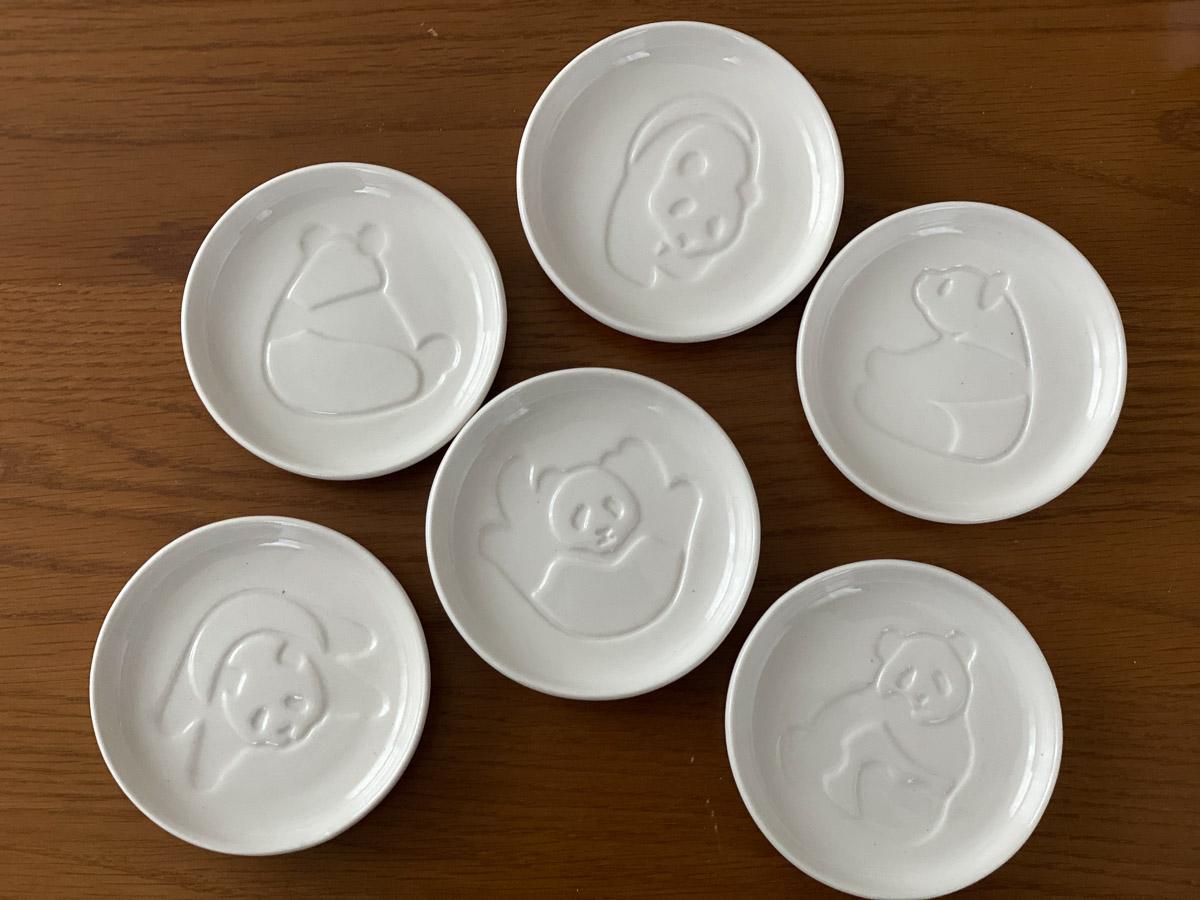 「パンダ醤油皿」はアフタヌーンティーリビングで1つ418円。なお、通販でも購入可能