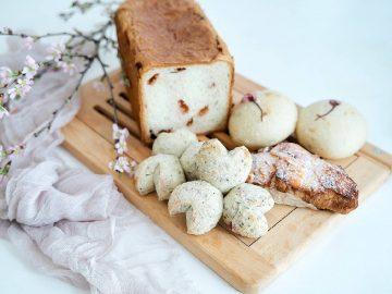高級フランス食パン専門店『ふじ森』の桜を使った「極上新作パン」4選