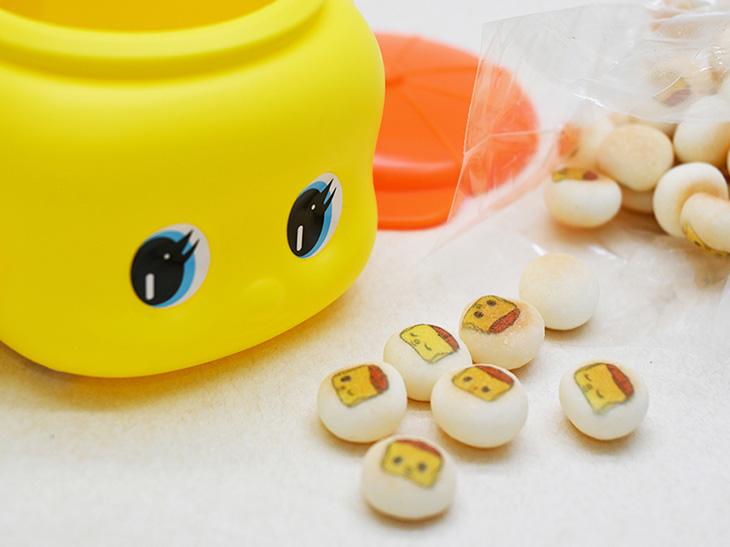 懐かしの文具がお菓子に! 関西土産の新定番「フエキプリントボーロ」とは?
