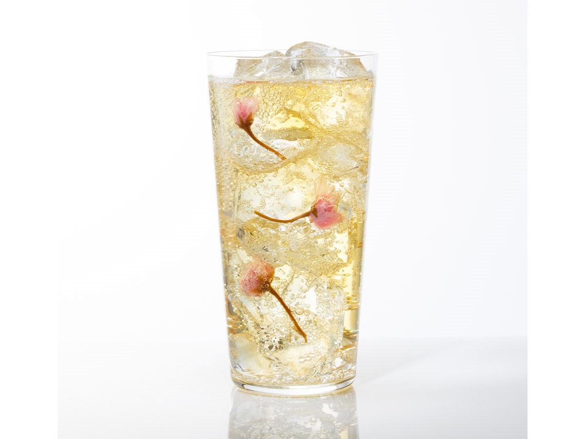 桜の盆栽&極上カクテルでおうち花見を楽しもう! 「オールドパーシルバー」で作る「サクラ香るハイボール」レシピ