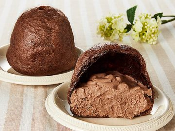 10日で6万個売れた! ローソン100の新感覚シュークリーム「もこもっ」シリーズに第2弾「チョコ」が登場