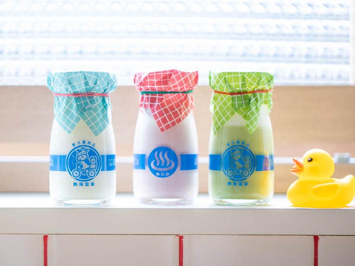 ミルク380円、抹茶400円、いちご420円