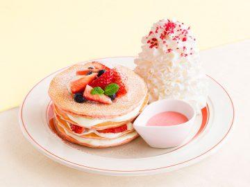プリンやどら焼きのパンケーキも! いま味わいたい魅惑の春限定「パンケーキ」6選