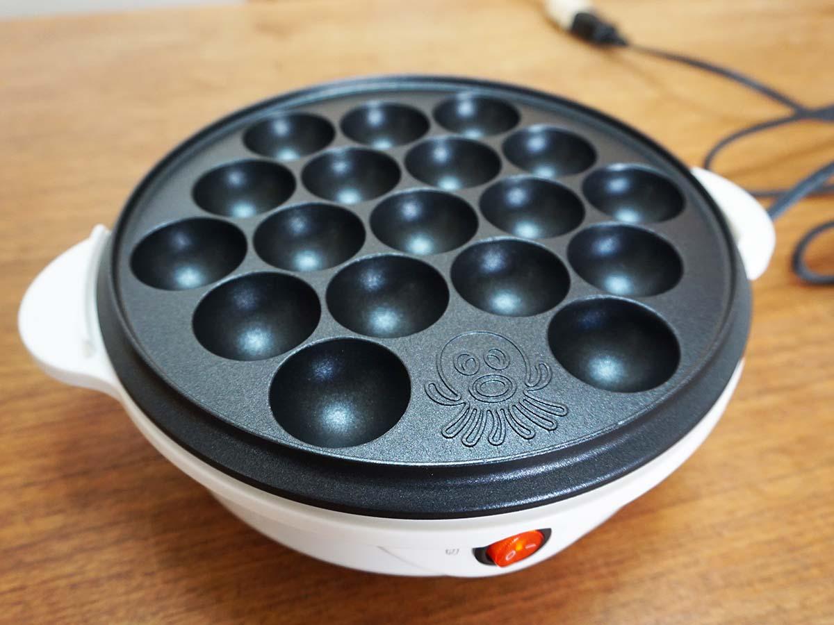 ニトリで買える約千円の「たこ焼き器」は本当に使えるのか試してみた!