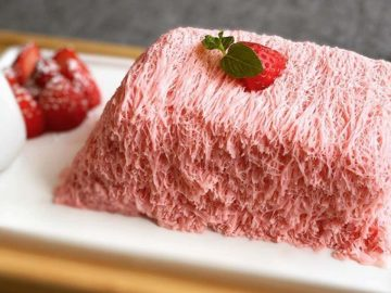 ブレイクの予感!『ソルカフェ』(京都)の細さ1mmのかき氷「糸ピンス」とは?