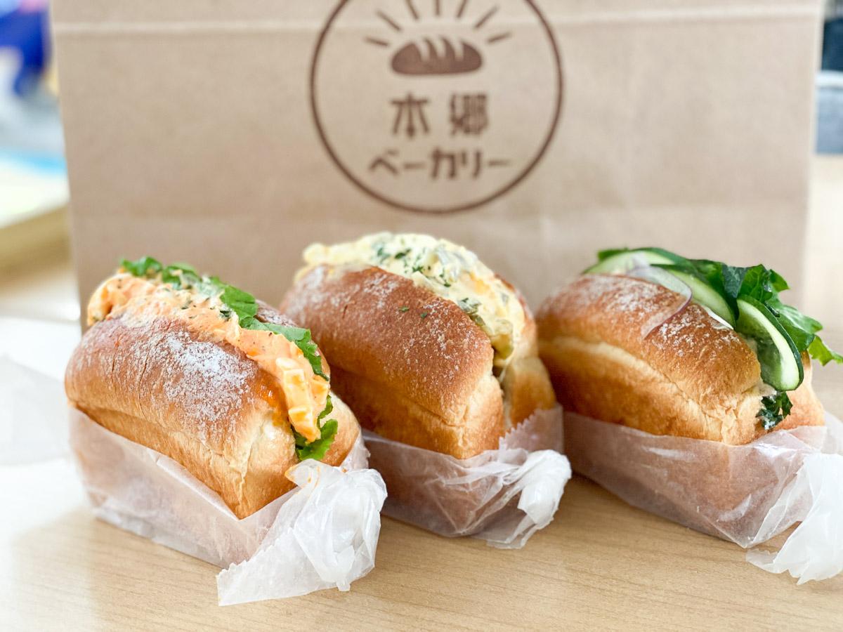 左から、「名古屋コーチン卵のトリュフ風味」、「チキン何番とタルタル」、「大葉ツナマヨ」。全て430円