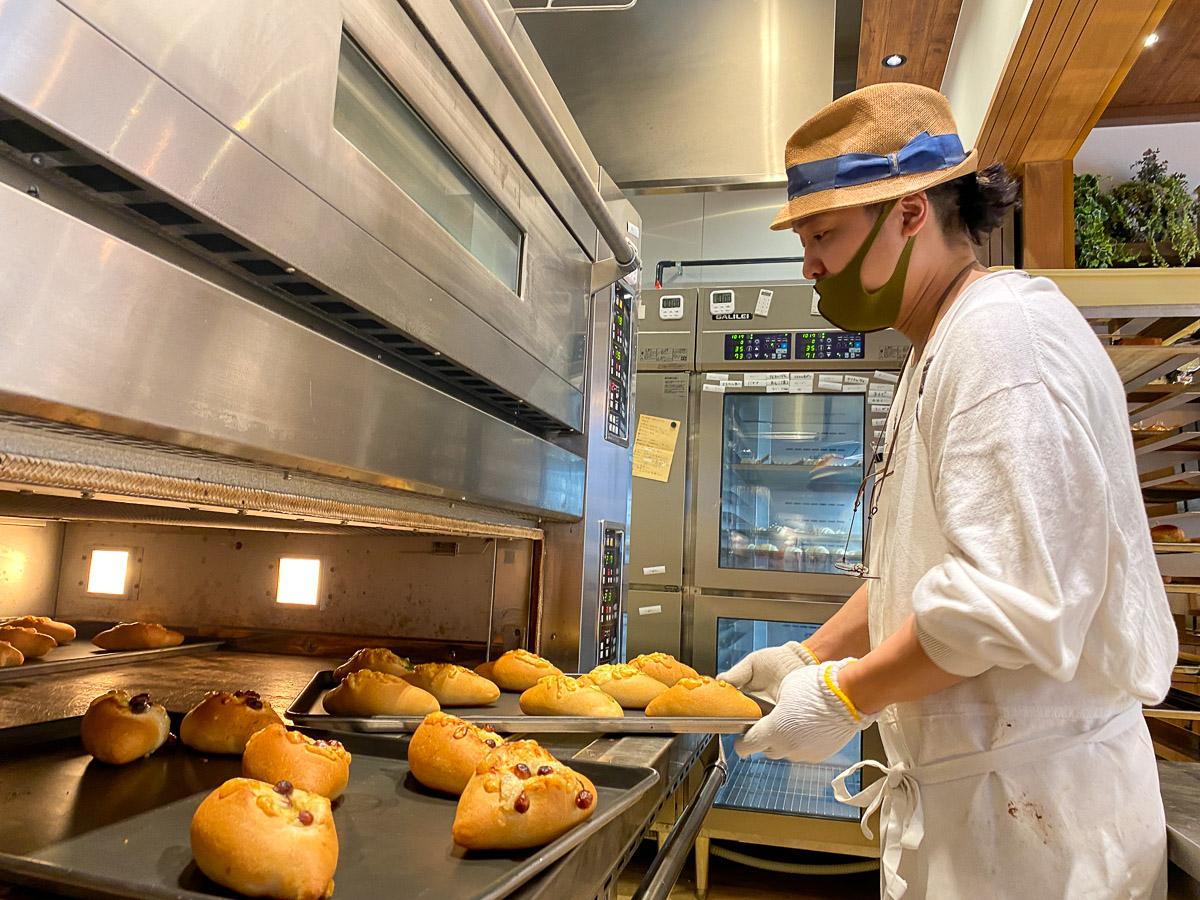 総料理長の平松さんは、イタリアンのシェフとパン職人をしていたそうです