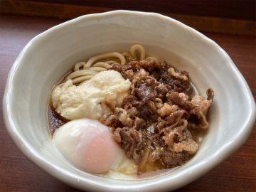 多幸感MAX!『丸亀製麺』の限定メニュー「神戸牛と大和芋のとろ玉うどん」を食べてみた