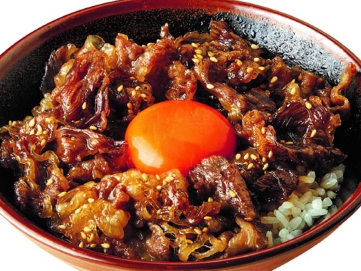 「神戸牛すき焼き丼」並590円