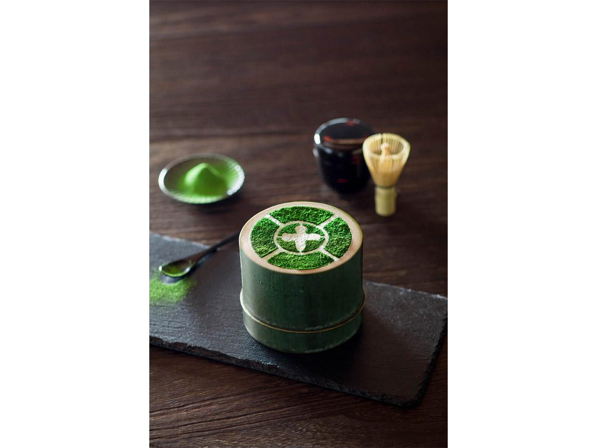 『中村藤吉本店』の「まるとパフェ[抹茶]」1430円。販売期間:~4/28(銀座店のみで提供)