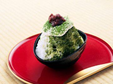 宇治茶×クリームチーズの新作かき氷が銀座『くろぎ茶々』に登場!