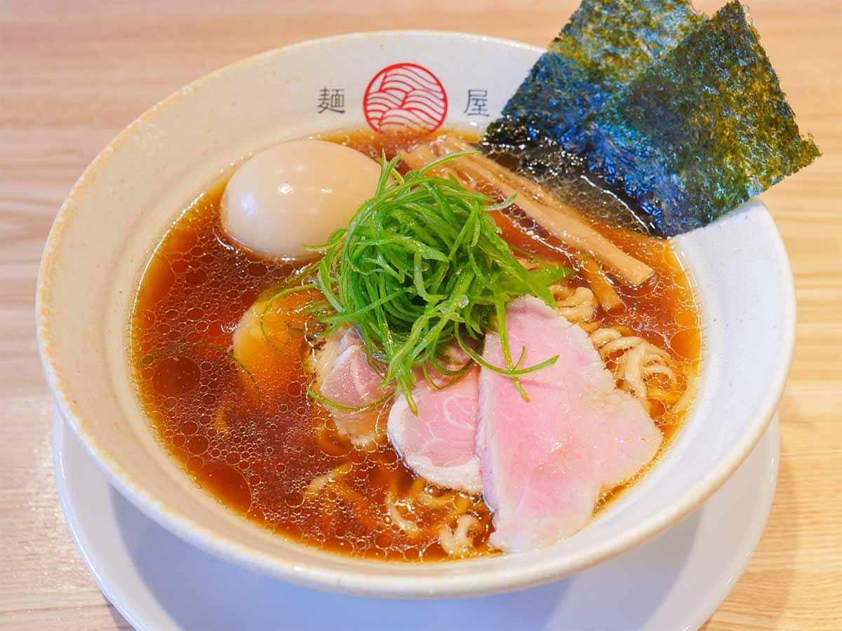 実力店『中華そば向日葵』の2号店『麺屋YAMATO』(三鷹台)の「醤油らぁ麺」を食べてきた