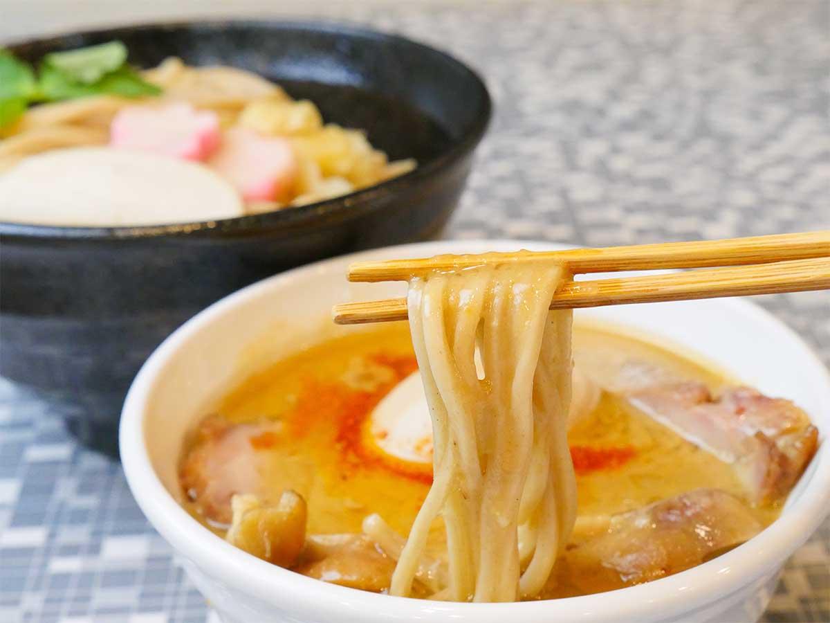 「銀だら西京味噌つけ麺(全部入り)」1200円+大盛り100円