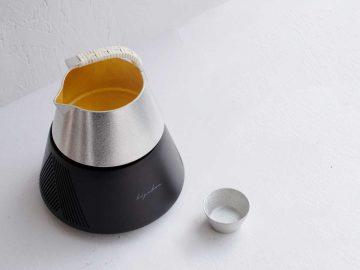 とびきり旨い熱燗と冷やを作る日本酒器「hiyakan」がクラウドファンディングに登場!