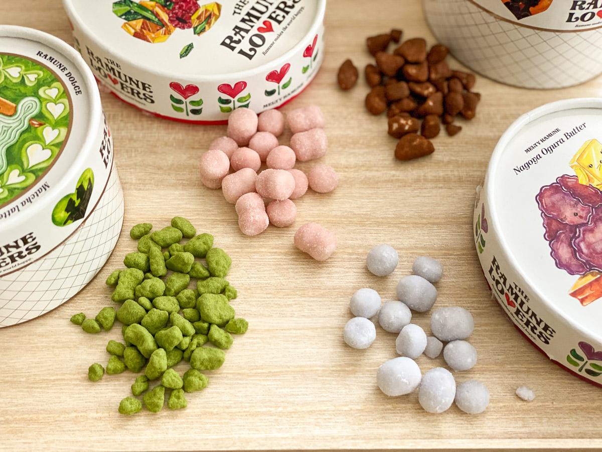 その他、「ピスタチオラズベリー」や「抹茶」なども、口の中で溶けていく際に、贅沢な香りや味を感じます