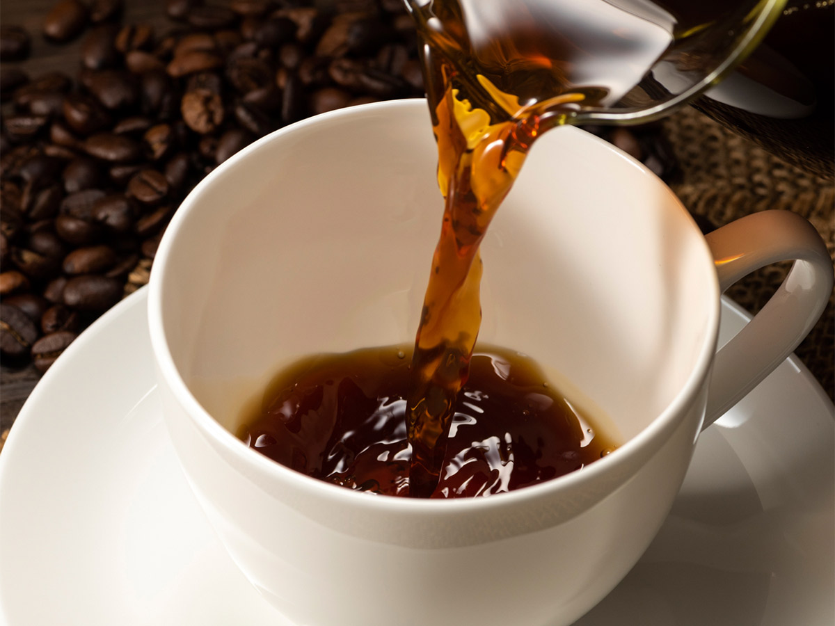 見た目は一般的なコーヒーそのもの