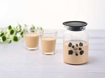 テクニックは一切不要! 牛乳で抽出する 「ミルク出しコーヒーポット」の作り方