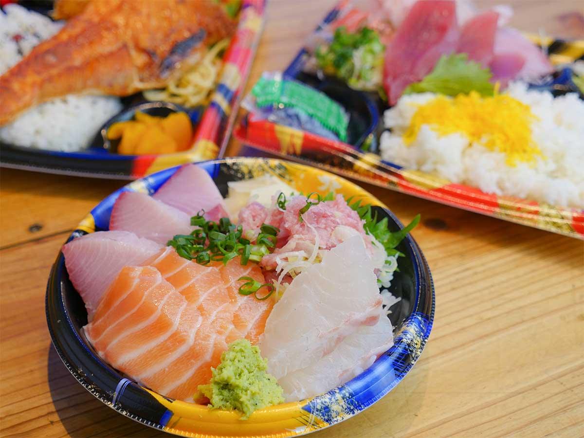 新宿で人気の海鮮居酒屋『鷹丸鮮魚店』で売れまくる絶品「海鮮弁当」3選