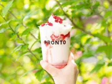 濃厚ないちごミルクにどハマり必至! 『PRONTO』の新作「リッチストロベリーミルク」シリーズが大人気